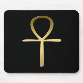 Egyptian Ankh Mouse Pad