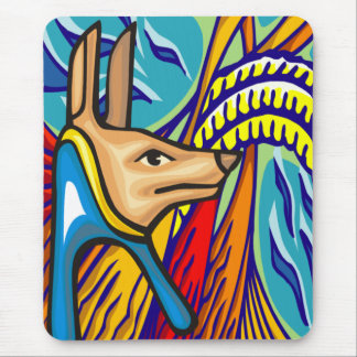 Egyptian Anubis Mousepad