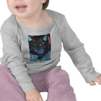 Egyptian Bast Black Cat Shirts