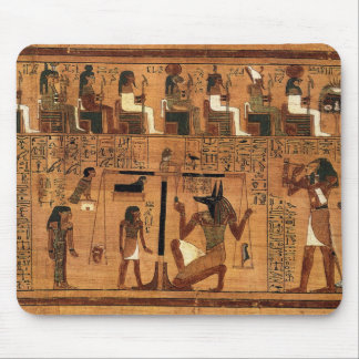 Egyptian books of the dead. mouse mat