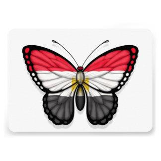 Egyptian Butterfly Flag Custom Announcements