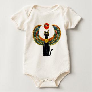 Egyptian Cat Baby Bodysuit
