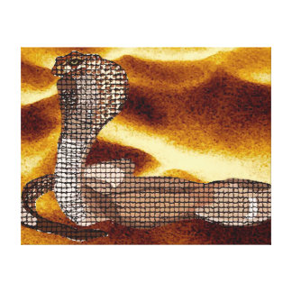 Egyptian Cobra Gallery Wrapped Canvas