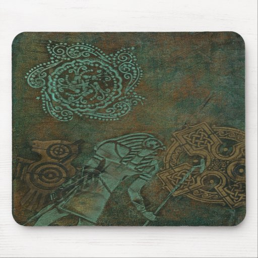 egyptian collage case mousepads