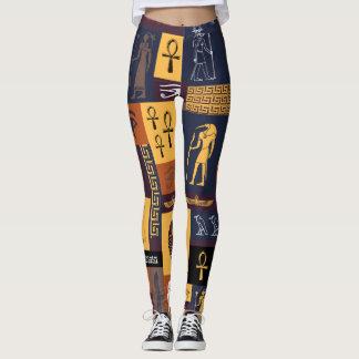 Egyptian Collage Leggings