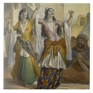 Egyptian Dancing Girls Performing the Ghawazi at R Tile