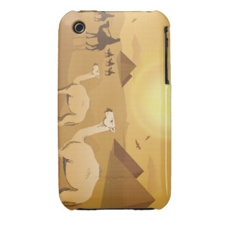 Egyptian desert camels iPhone 3 covers
