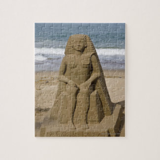 Egyptian design jigsaw puzzle