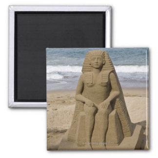 Egyptian design magnet
