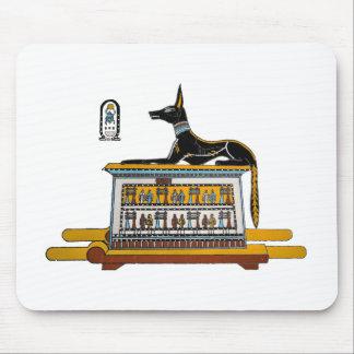 Egyptian Dog Mouse Pad