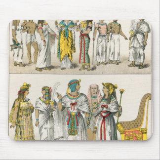 Egyptian Dress, from 'Trachten der Voelker' Mouse Pad
