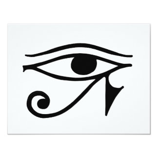 Egyptian Eye Card