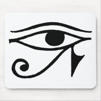 Egyptian eye mouse pads