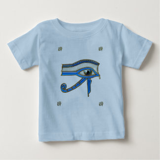 Egyptian Eye of Horus Ancient Art Designer Infants Baby T-Shirt