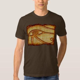 Egyptian Eye of Horus Ancient Papyrus Art Shirt