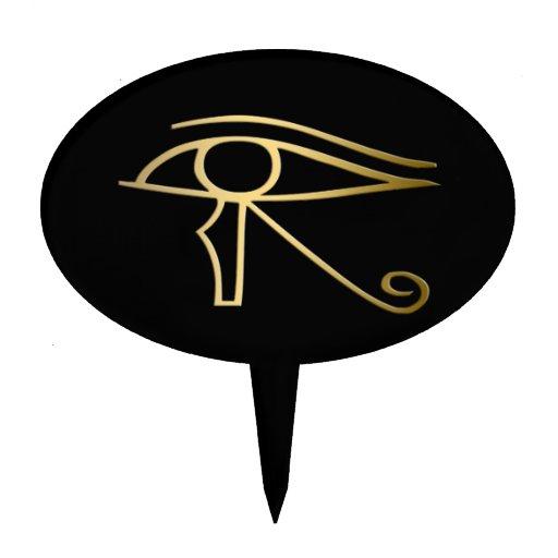 Egyptian Eye of Horus Cake Topper