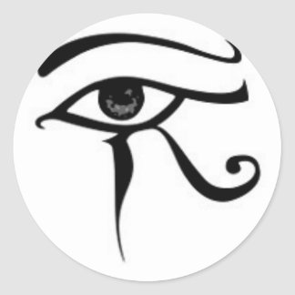 Egyptian eye Of Horus Classic Round Sticker