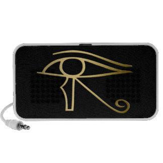 Egyptian Eye of Horus iPod Speakers