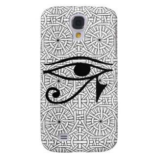 Egyptian Eye & Pattern HTC Vivid Tough Case Galaxy S4 Case