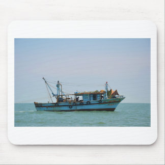Egyptian Fishing Boat Mousepads