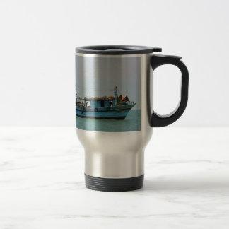 Egyptian Fishing Boat Travel Mug