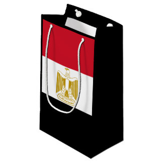 Egyptian flag small gift bag