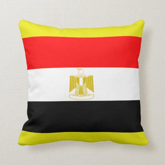 Egyptian Flag Throw Pillow