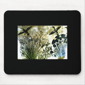 egyptian floorpainting mouse pad