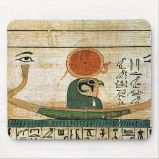 Egyptian funerary papyrus mouse mat