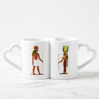 Egyptian God And Goddess Coffee Mug Set