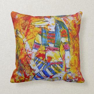 Egyptian God Anubis Pillow! Throw Pillow