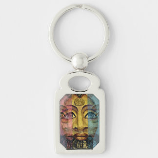 Egyptian goddess beautiful painting key ring