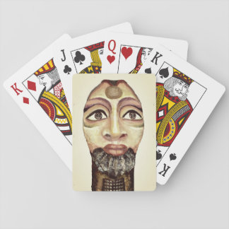 Egyptian goddess beautiful painting playing cards