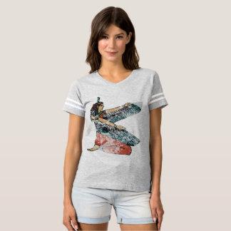 Egyptian goddess Maat winged goddess woman power T-Shirt