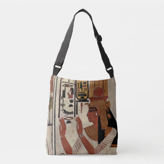 Egyptian Goddess Nefertari Crossbody Bag