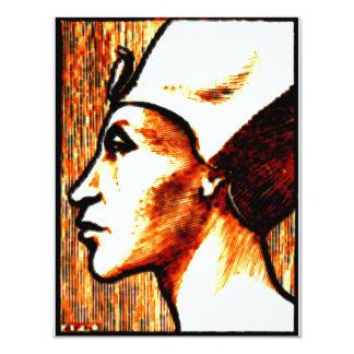 ~Egyptian Gods~ Akhnaton 11 Cm X 14 Cm Invitation Card