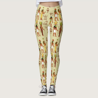 Egyptian Gods And Goddesses Leggings
