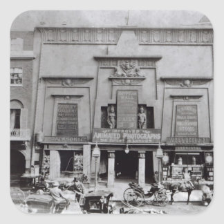Egyptian Hall, Piccadilly 1895 Square Sticker