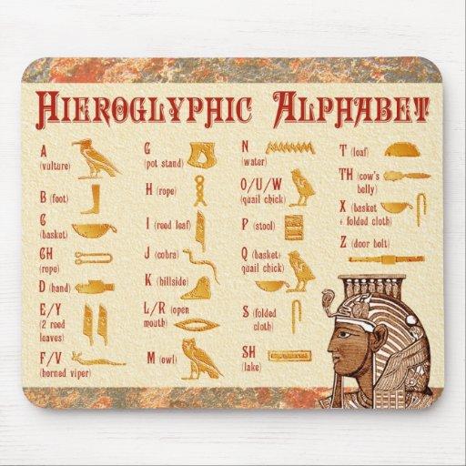 alphabet hieroglyphic ancient egyptian writing Quotes