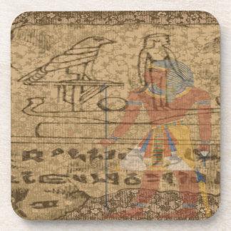 Egyptian Hieroglyphic Coaster