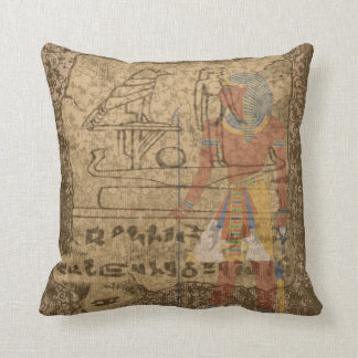 Egyptian Hieroglyphic Cushion