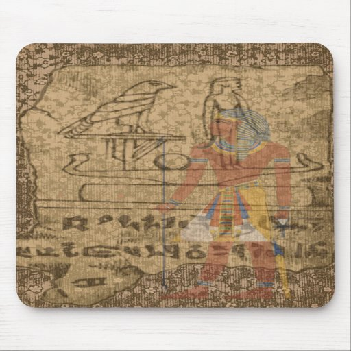 Egyptian Hieroglyphic Mouse Pads