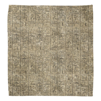 Egyptian Hieroglyphics Bandana