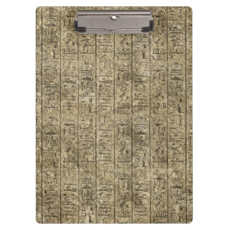 Egyptian Hieroglyphics Clipboard