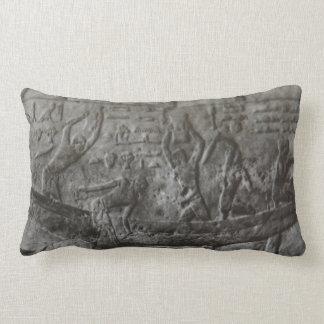 Egyptian Hieroglyphics Lumbar Pillow