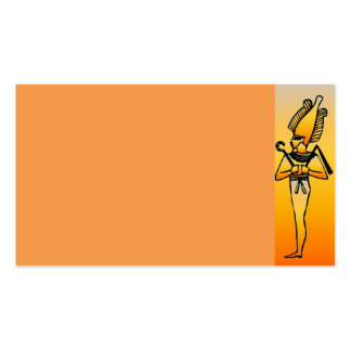 Egyptian Hieroglyphics Pack Of Standard Business Cards