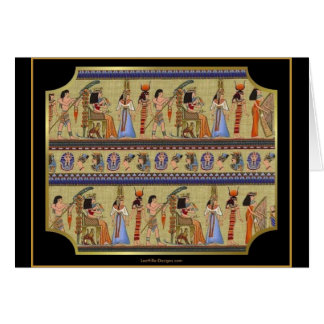 Egyptian Hieroglyphics Series II Apparel Gifts Greeting Card