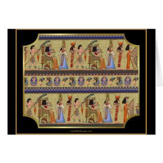 Egyptian Hieroglyphics Series II Apparel Gifts Greeting Card
