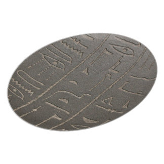 Egyptian Hieroglyphs Ancient Egypt Writing Symbols Plate
