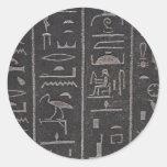 Egyptian Hieroglyphs Stickers